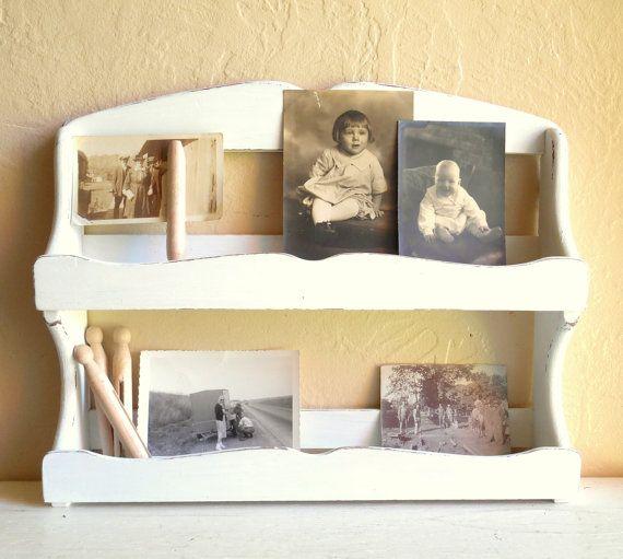 wall shelf white wood 2