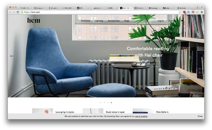 """Výrazný header, """"neviditelné"""" menu, kvalitní produktové fotografie, rytmus dolních sekcí (1 fotka, 2 fotky, 3 fotky)"""
