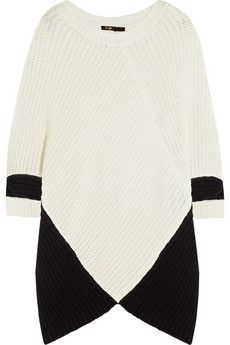 Maje Kassiope chunky-knit sweater | NET-A-PORTER