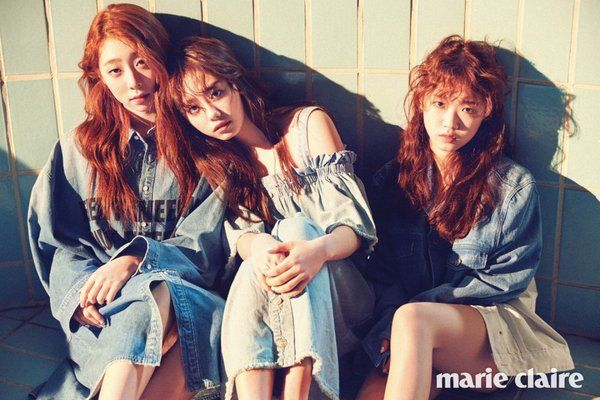 Sohye, Yoojung and Yeonjung. #I.O.I #MarieClaireKorea