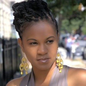 Lovely Locs Hairstyle My Next Updo