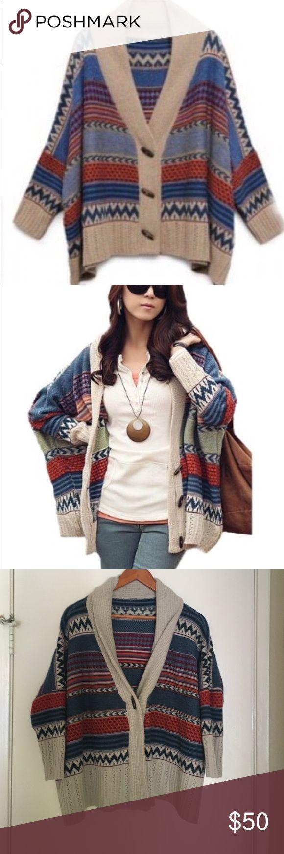 Best 25  Aztec sweater cardigan ideas on Pinterest | Aztec sweater ...