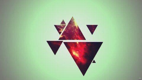 Best 25  Triangle art ideas on Pinterest | Triangles, Geometric ...