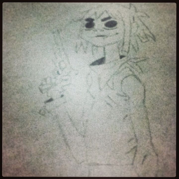 2D from gorrilaz