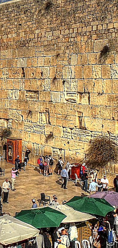 Wailing Wall . Jerusalem