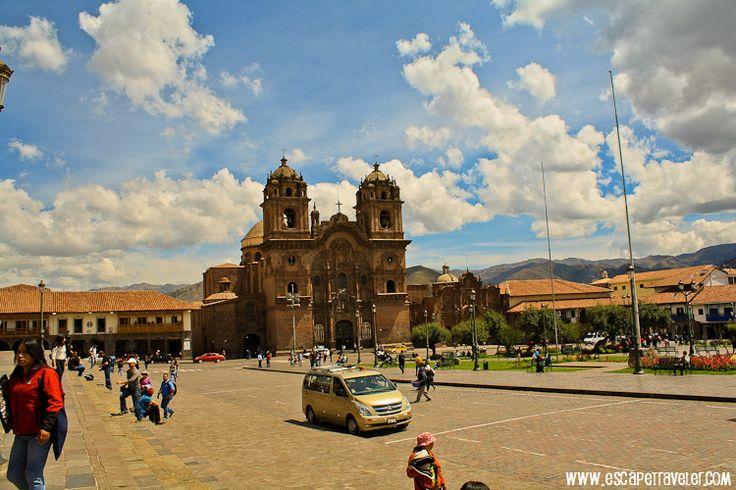 Church around Plaza de Armas, Cuzco Peru
