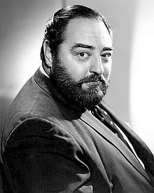 Sebastian Cabot (7/6/18 - 8/22/77) English film and television actor, best remembered as the gentleman's gentleman, Giles French, opposite Brian Keith's character, in the sitcom Family Affair.