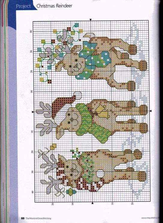 Gallery.ru / Photo # 24 - The world of cross stitching 196 + app Christmas Charts - tymannost