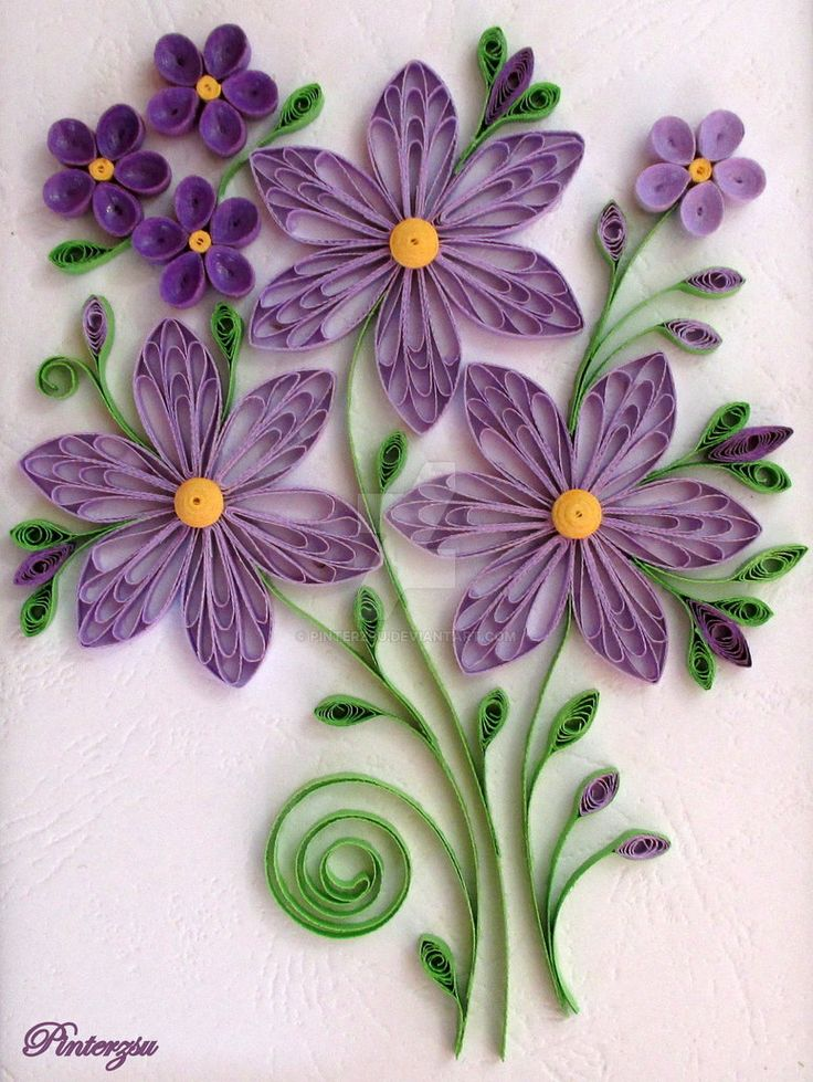 2062 best crafts quilling images on pinterest for Quilling patterns