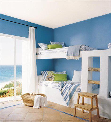 Bunk beds are great for smaller beach condos. Www.singerislandlifestyles.com