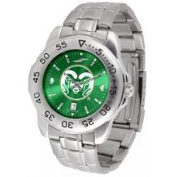 Colorado State Rams Sport Steel Watch- AnoChrome Dial