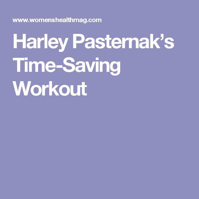 Harley Pasternak's Time-Saving Workout