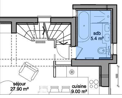 plan gratuit salle de bain avec wc. Black Bedroom Furniture Sets. Home Design Ideas