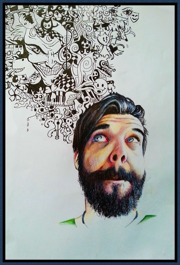 Capetown Hipster, Casey Richards, 2 January 2015, 42 x 31 cm, Pen and Pencil Drawing