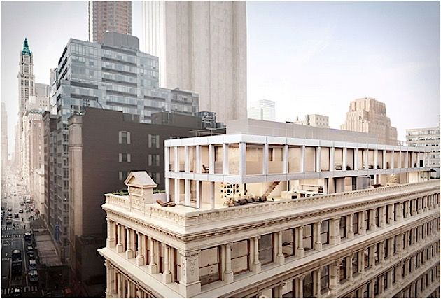 Architektur: Neue Penthouse-Wohnungen auf dem New Yorker Cast Iron House