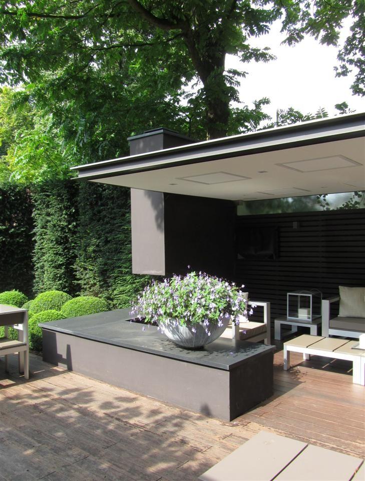 Buitenloft overdekt terras arend groenewegen architect bna outside pinterest search for Overdekt terras