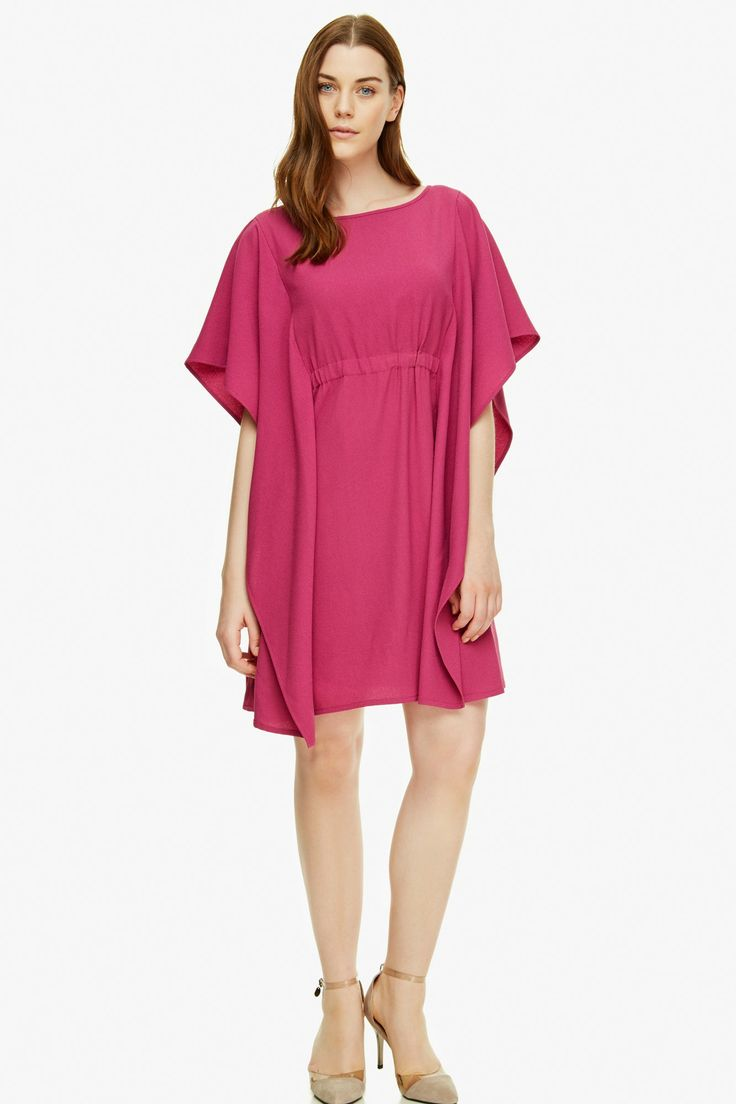 Vestido crepe efecto capa c ctel adolfo dominguez shop for Adolfo dominguez outlet online