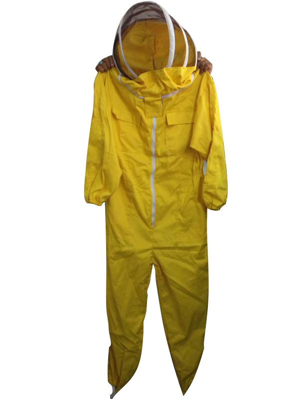 Beekeeping Suit, Bee Suit, Beekeeper Suit, fency Veil with Yellow color #Unbranded