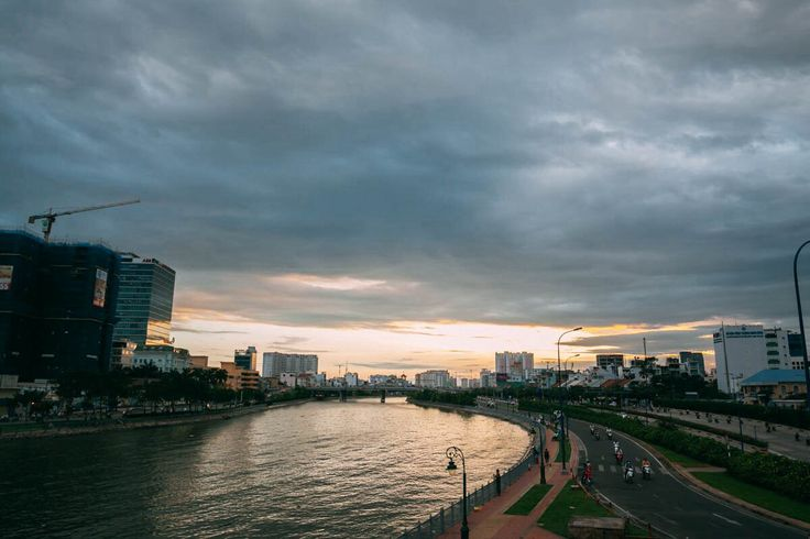 Каналы реки Меконг, центр Хошимина