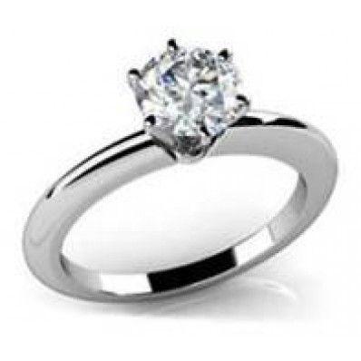 Μονόπετρο 18Κ δεμένο με Διαμάντι 0,40 carats H007