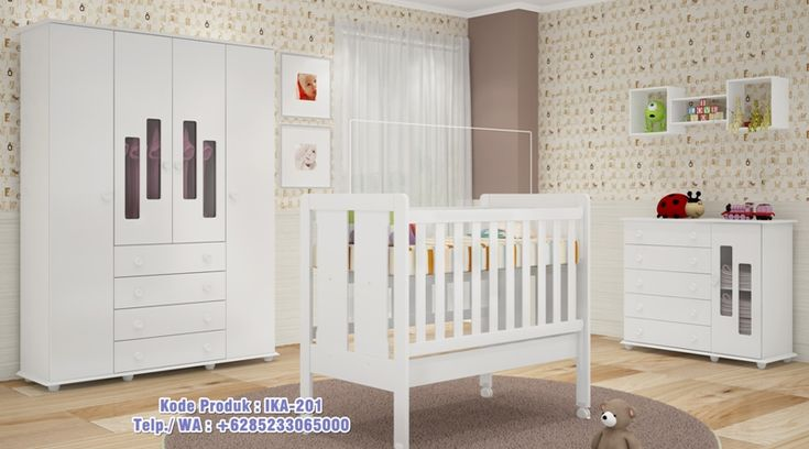 1 Set Tempat Tidur Anak Bayi