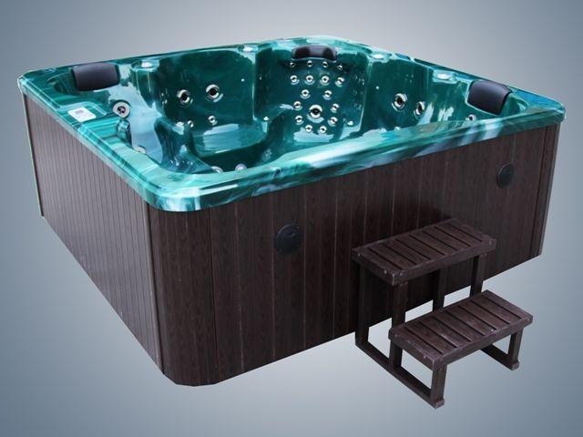 athena green hot-tub