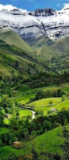 Valle del Pisuena, Spain. | #MostBeautifulPages