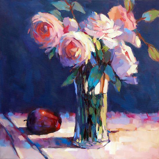 Delicious, Too by Trisha Adams Oil ~ 30 x 30