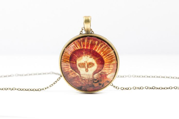 Lockets – Skull Necklace [Cave Art Collection] – a unique product by Art-Of-Nature on DaWanda