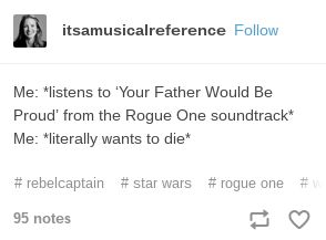 Rogue One soundtrack feels