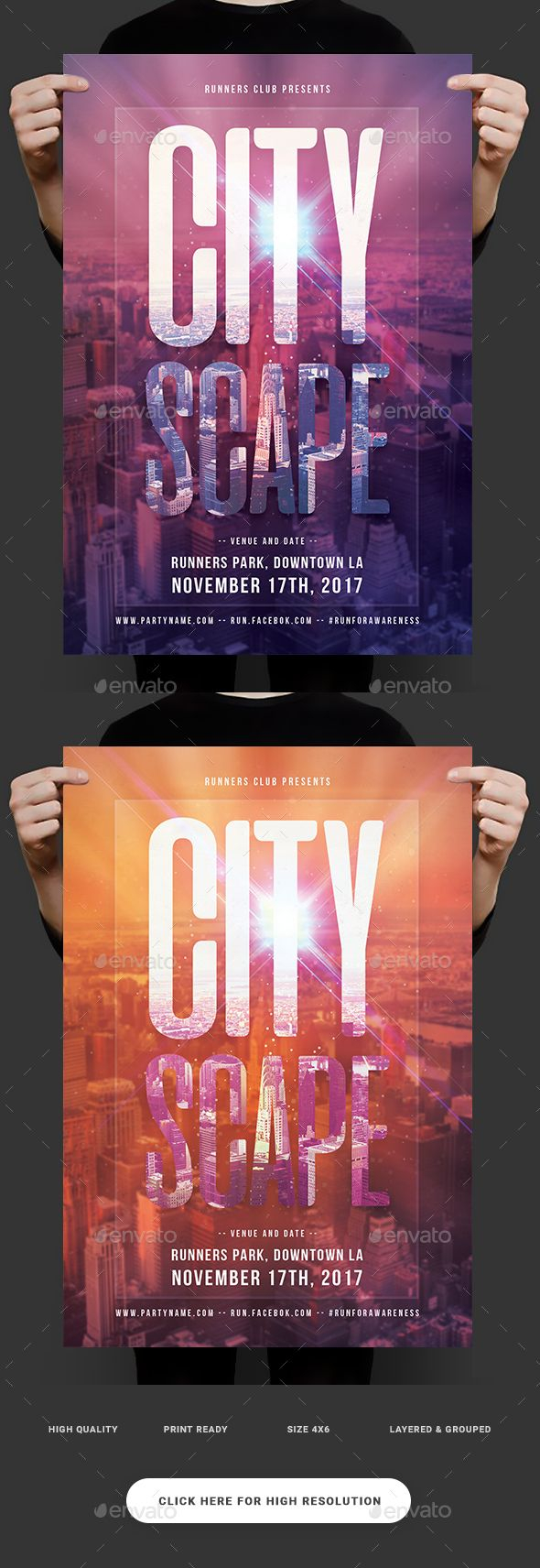 11 best sports flyers posters web images on pinterest event urban cityscape flyer fandeluxe Gallery