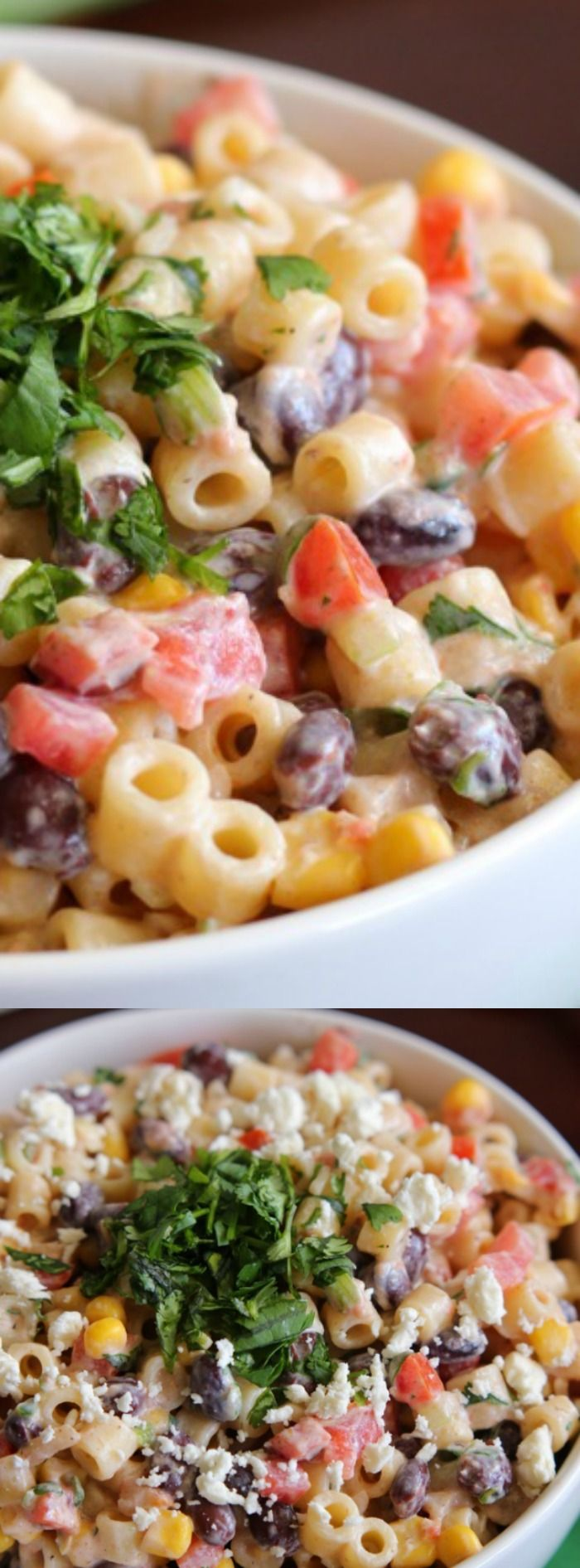 This Mexican Pasta Salad from The Recipe Critic is a delicious pasta salad…