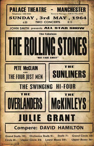 vintage concert posters -