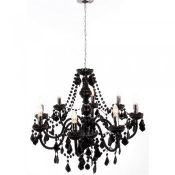 8 best baroque chic images on pinterest lamps acrylics On lustre noir baroque