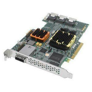 Adaptec 52445 28 Port Serial ATA/SAS RAID Controller. 52445 RAID 24X4CH SATA/SAS 512MB PCIE 24INT/4EXT CH W/O CBL SATA-R. 512MB DDR2 - PCI Express x8 - Up to 300MBps Per Port - 1 x SFF-8088 mini SAS 300 - Serial Attached SCSI External, 6 x SFF-8087 mini SAS 300 - Serial Attached SCSI Internal by Adaptec. $1686.73. Adaptec 52445 28 Port Serial ATA/SAS RAID Controller. 52445 RAID 24X4CH SATA/SAS 512MB PCIE 24INT/4EXT CH W/O CBL SATA-R. 512MB DDR2 - PCI Express x8 - U...