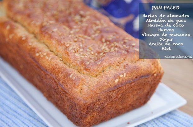 Recetas Paleo- Pan Paleolitico - Dieta Paleo