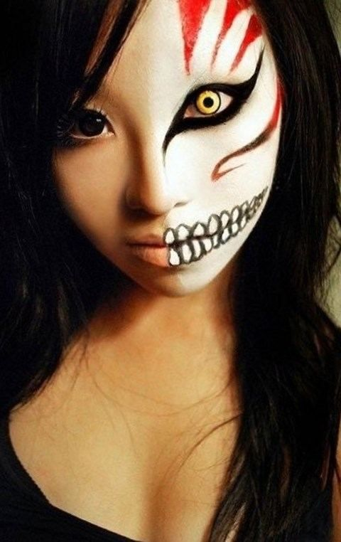 Maquillage halloween facile faire maison , http//lookvisage.ru/maquillage,
