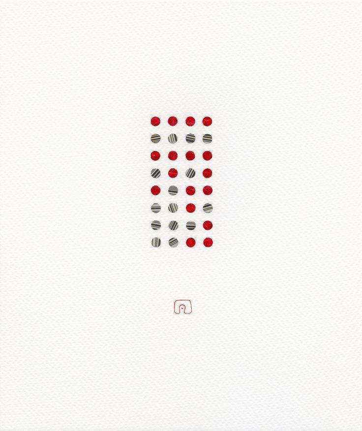 Word N°02 - 21 x 25 cm / Art by Slavomir Zombek