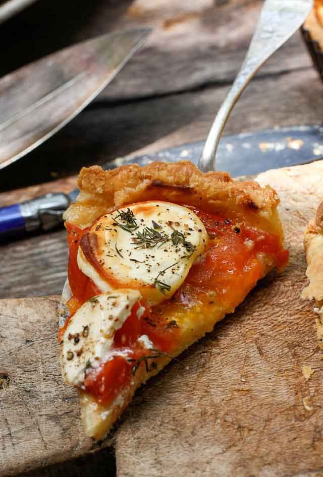 French Tomato Tart- perfect for a picnic!