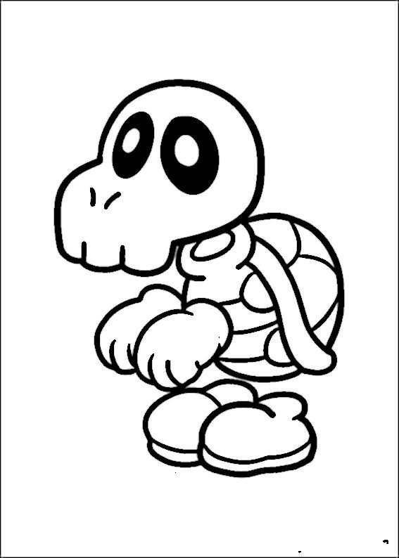 Mario Bross Coloring Pages 12