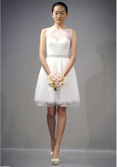 Civil wedding dress