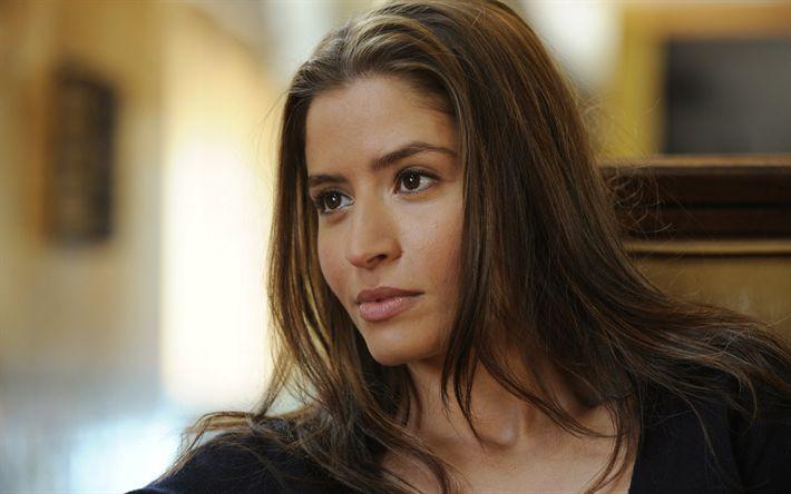 Télécharger fonds d'écran Mercedes Masohn, actrice suédoise, portrait, visage, maquillage, belle femme, photoshoot