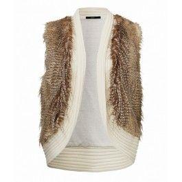 FUR VEST - Vests - Clothing