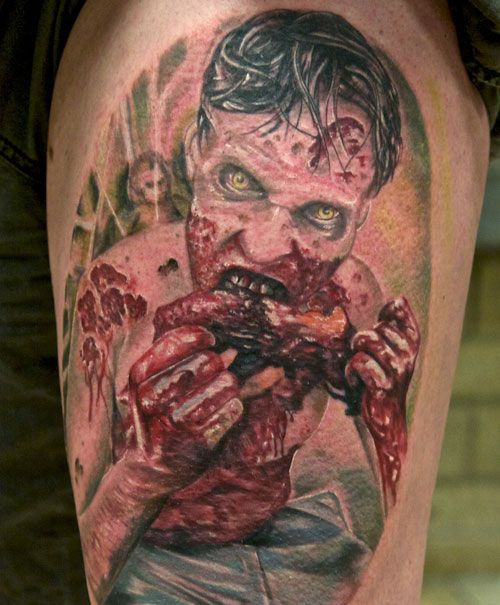 creepy tattoos -