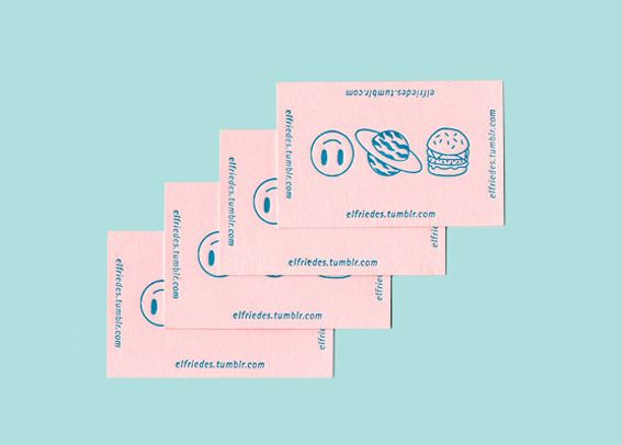 Letterpress cards in Graphic Design