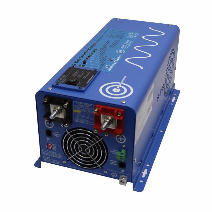 AIMS Power 2000 Watt 12 Volt Pure Sine Inverter Charger ...