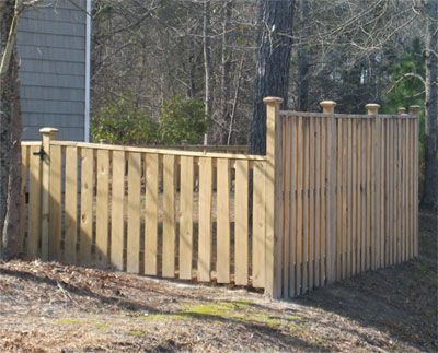 Wilmington, NC Wood fencing