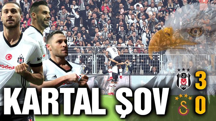 CANLI | Beşiktaş Galatasaray: 3-0 (Maç sonucu)