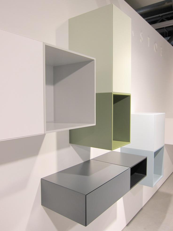 Vision and Boxes, Pastoe presentation Koln Design Post