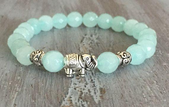 Elephant Bracelet Elephant Jewelry  Boho Bracelet Elephant